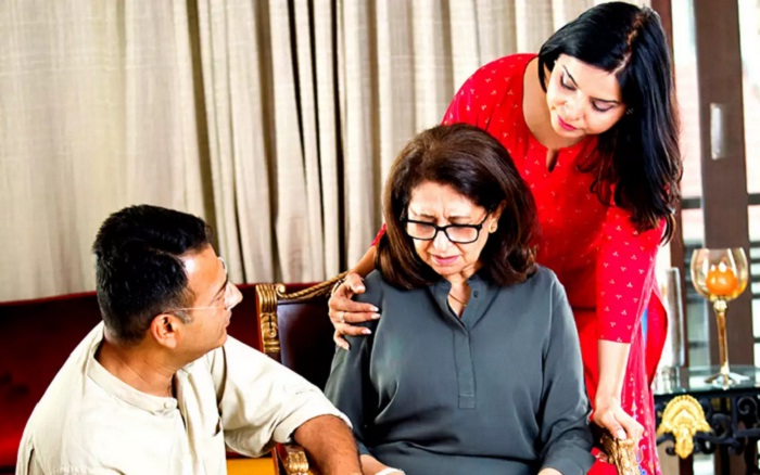facing trouble with mother in law