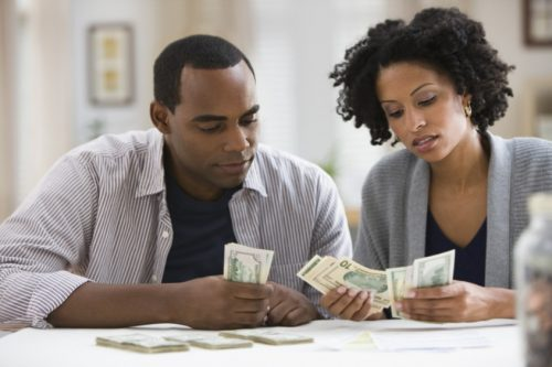 financial problems among couples